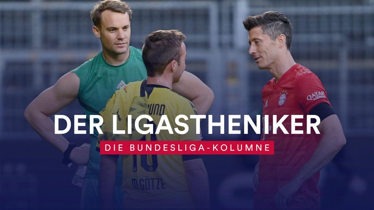 Der LIGAstheniker über den Vergleich zwischen dem FC Bayern und Borussia Dortmund