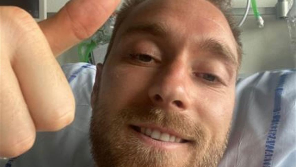 Aus dem Krankenhaus entlassen: Christian Eriksen