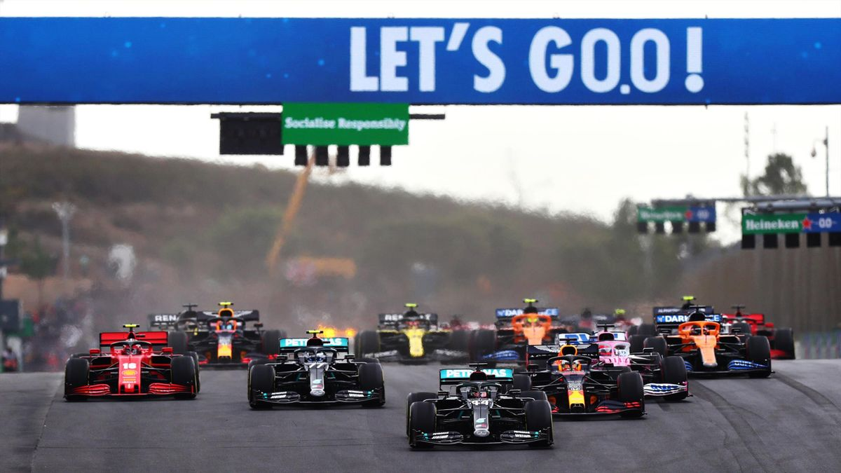 Die Formel 1 fährt auch 2021 in Portimao
