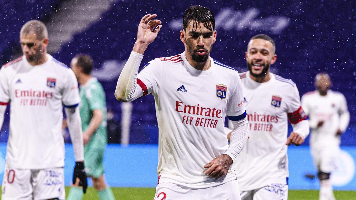 Paqueta buteur pour Lyon face à Angers