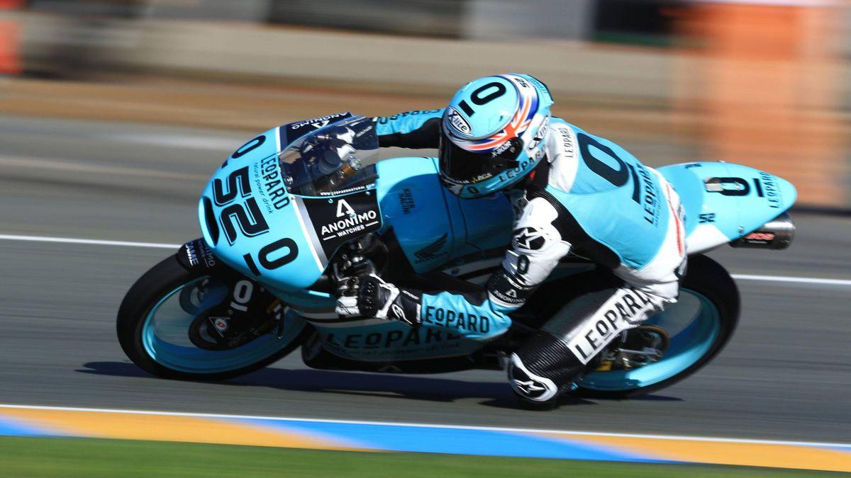 Honda-Fahrer Danny Kent steht in der Moto3 erneut auf der Pole.