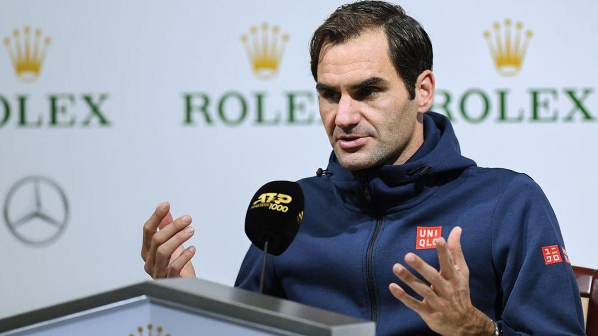 Roger Federer, press conference, Shanghai 2019