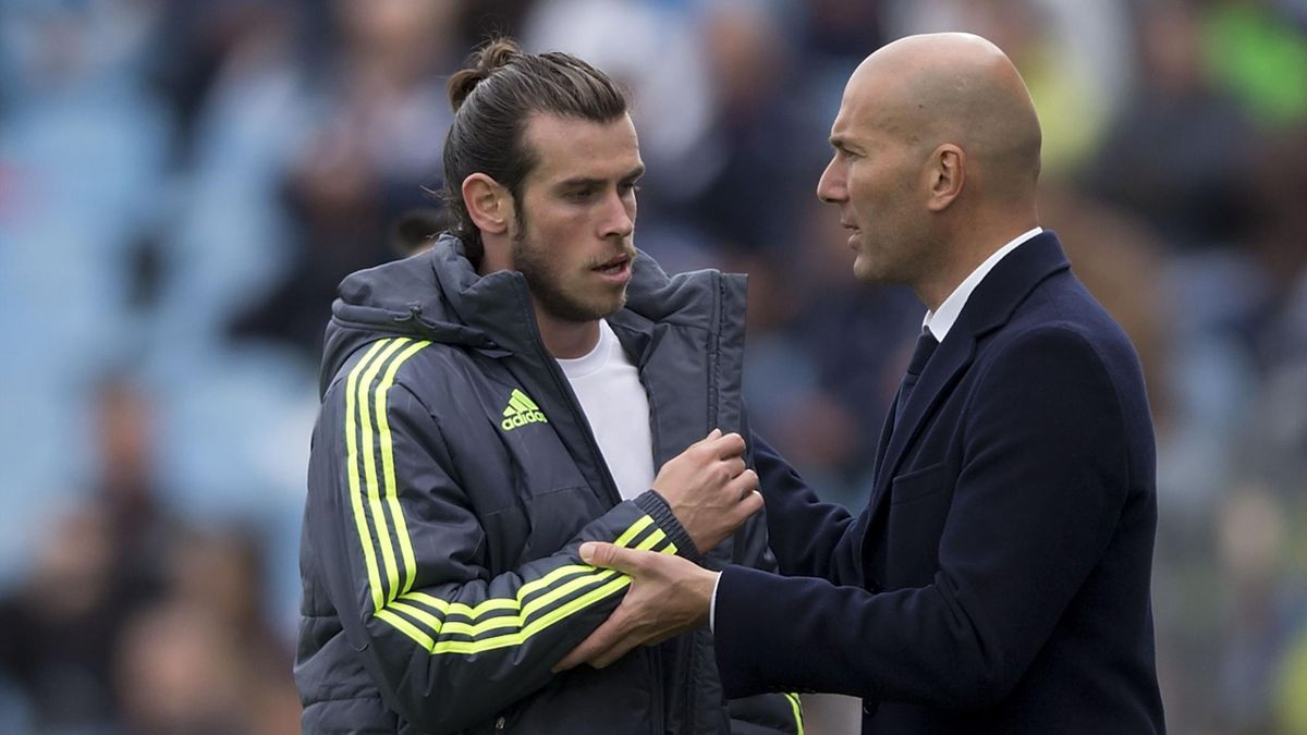 Gareth Bale și Zinedine Zidane