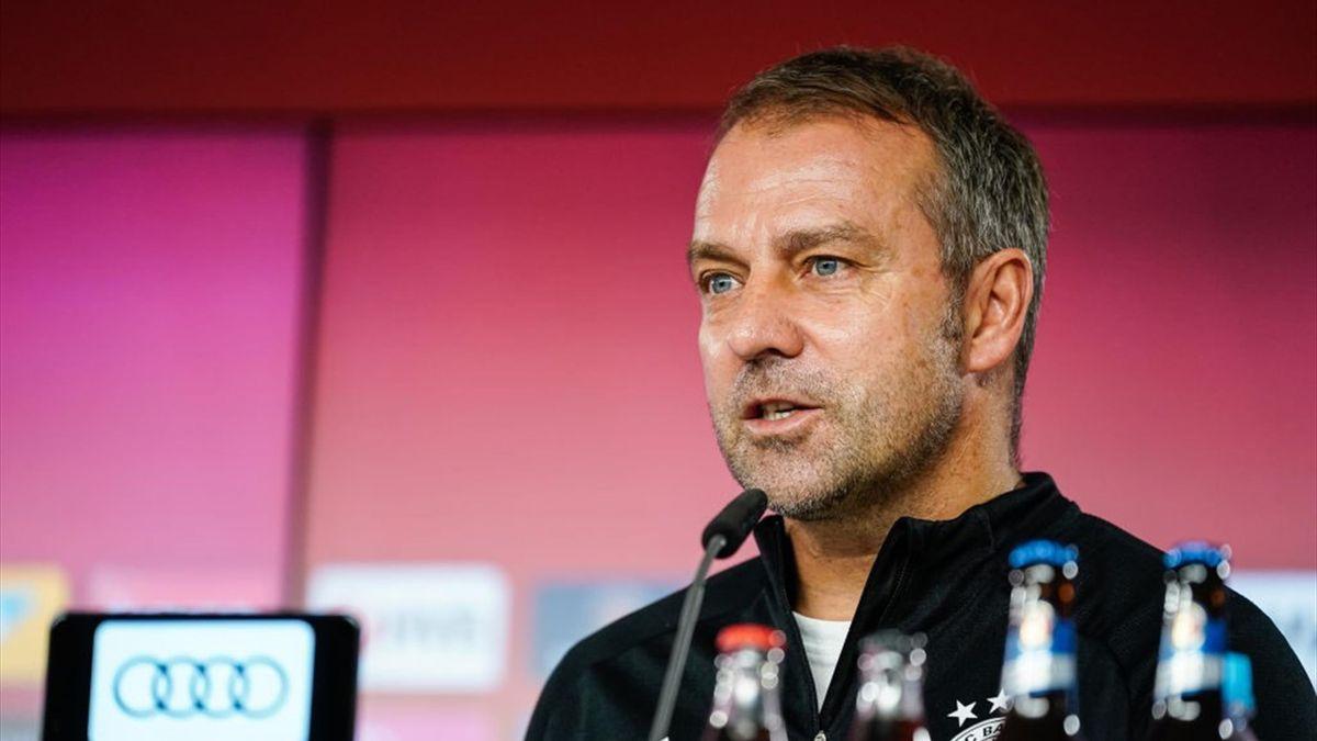 Trainer des FC Bayern München: Hansi Flick