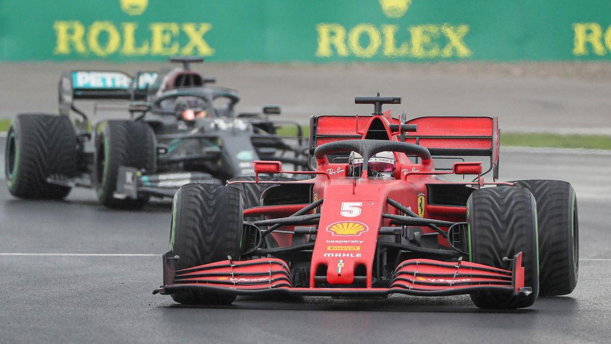 Sebastian Vettel (Ferrari) beim Großen Preis der Türkei in Istanbul