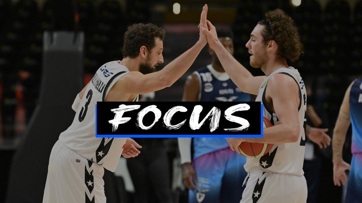 Marco Belinelli e ALessandro Pajola, Virtus Bologna - Focus