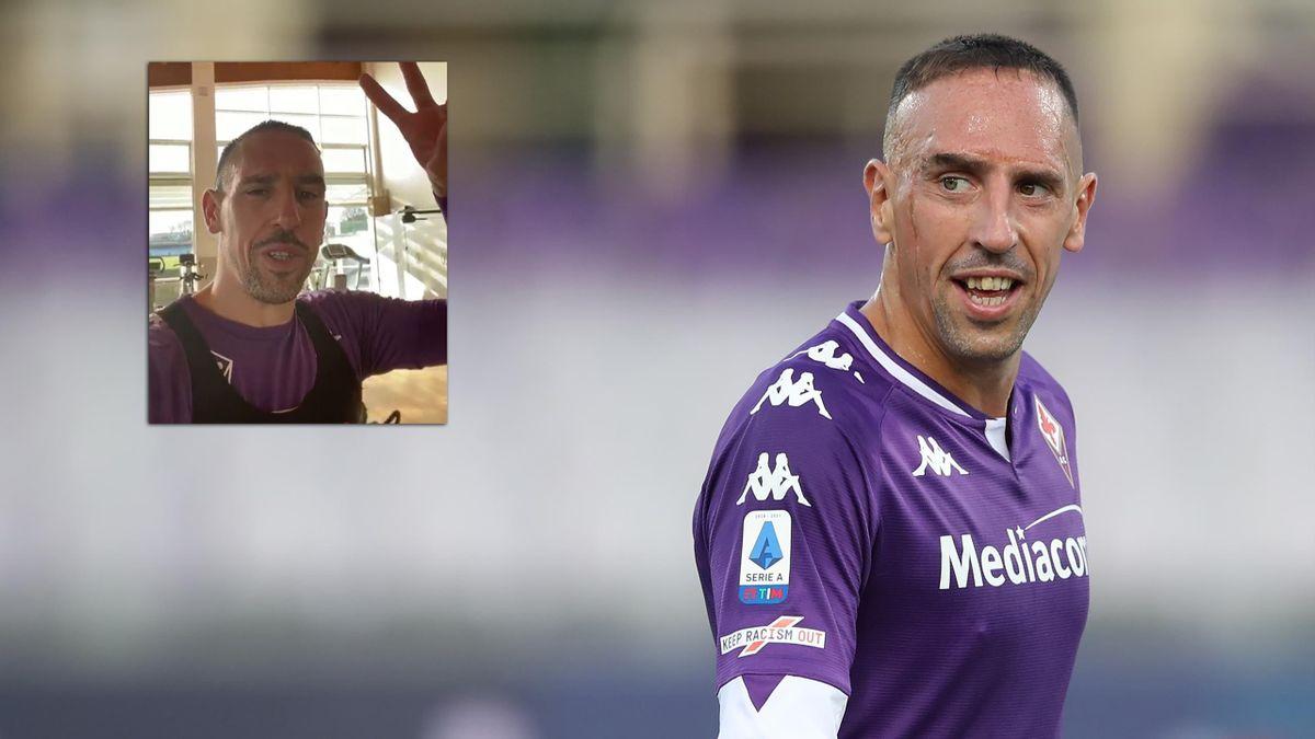 Franck Ribéry vom AC Florenz