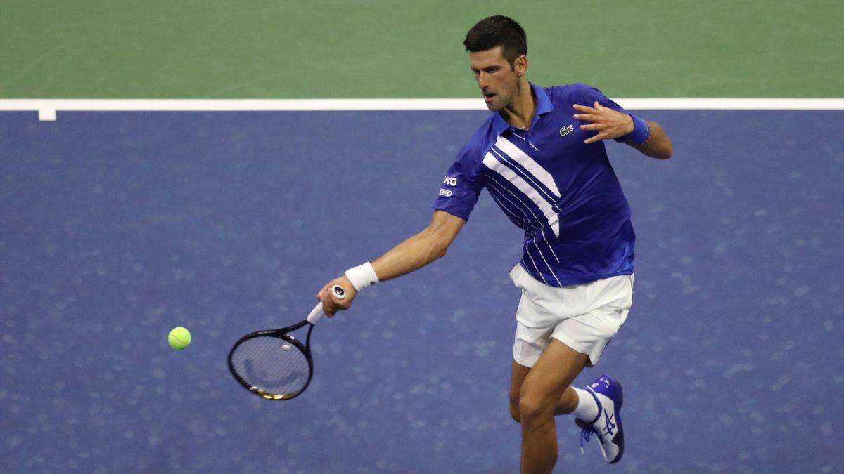 Novak Djokovic allo US Open 2020