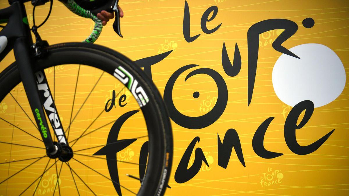 Le logo du Tour de France