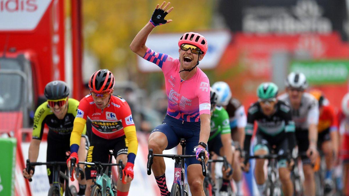 Magnus Cort Nielsen (EF Education First) a remporté la 16e étape de la Vuelta 2020