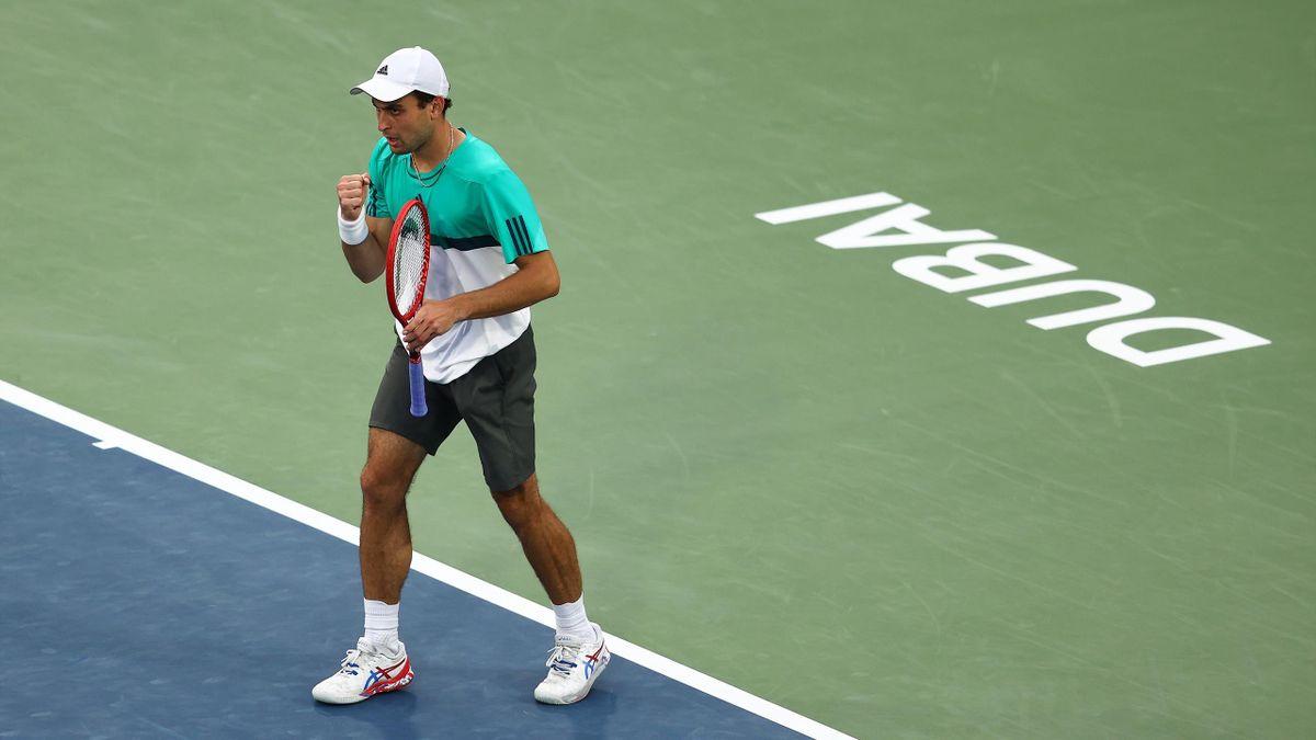 Аслан Карацев, Россия, турнир ATP 500 Дубай