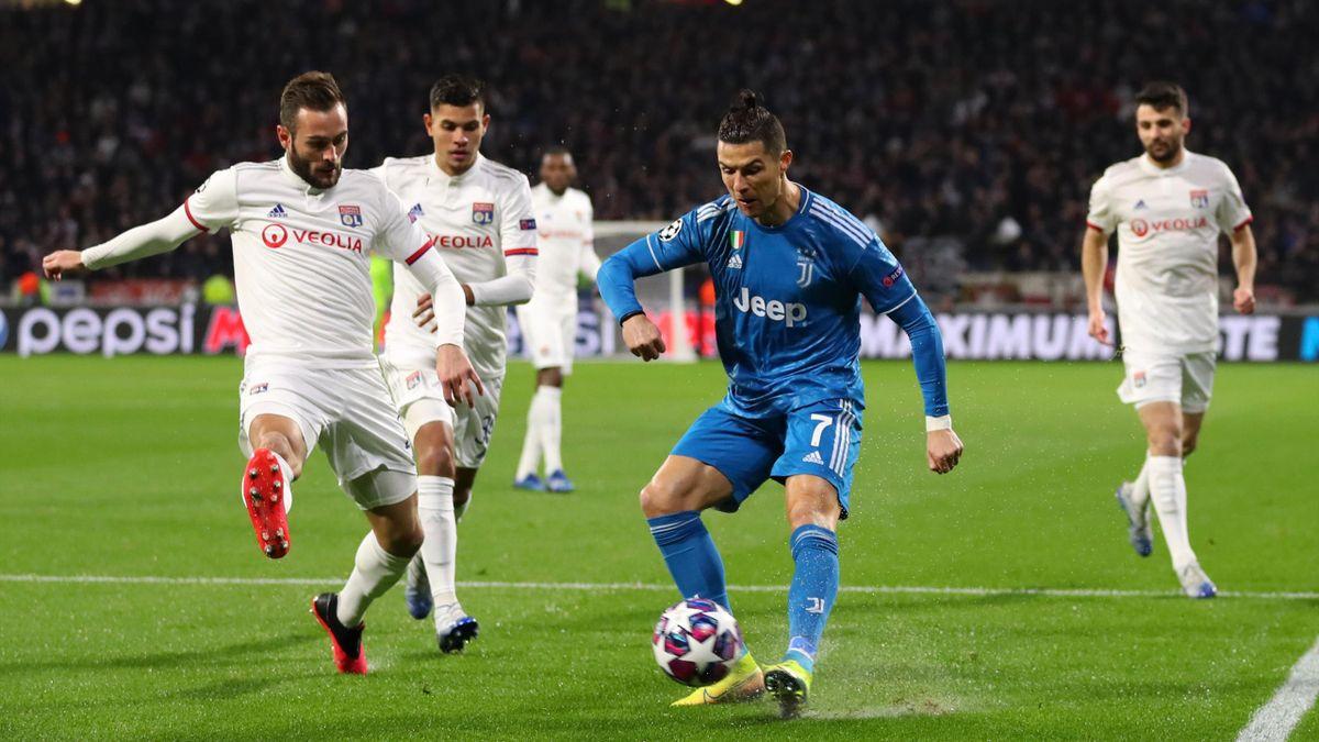 Cristiano Ronaldo, Lione-Juventus, Champions League, Getty Images