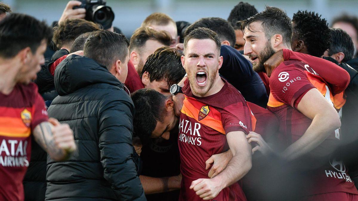 Explosion de joie pour la Roma, face à la Spezia (4-3)