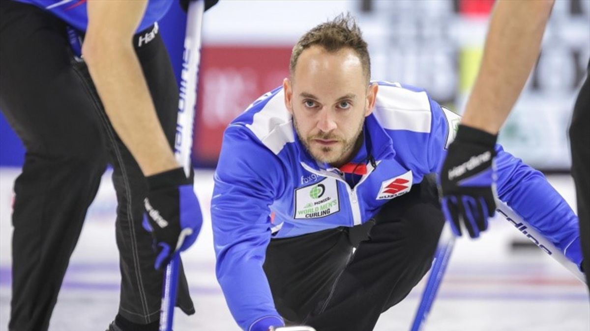 Italian skip, Joel Retornaz (Credit World Curling)