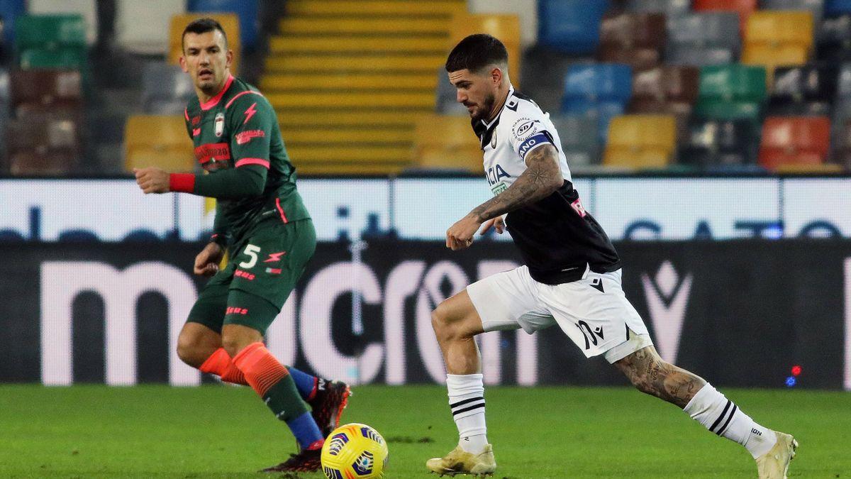 Rodrigo De Paul, Udinese-Crotone, Serie A 2020-21, Imago