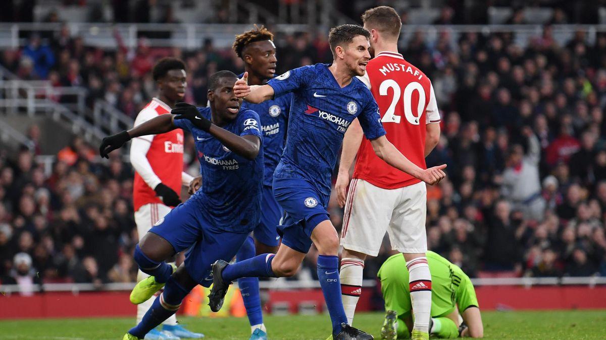Jorginho, Leno - Arsenal-Chelsea - Premier League 2019/2020 - Getty Images