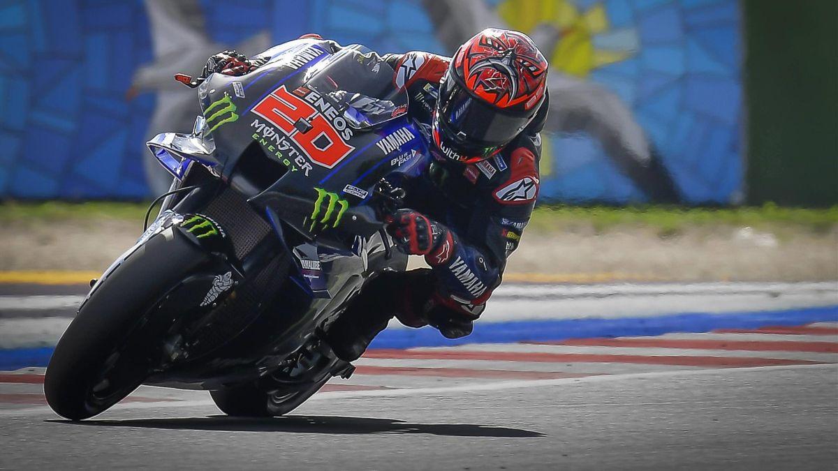 Fabio Quartararo (Yamaha) au Grand Prix de Saint-Marin 2021