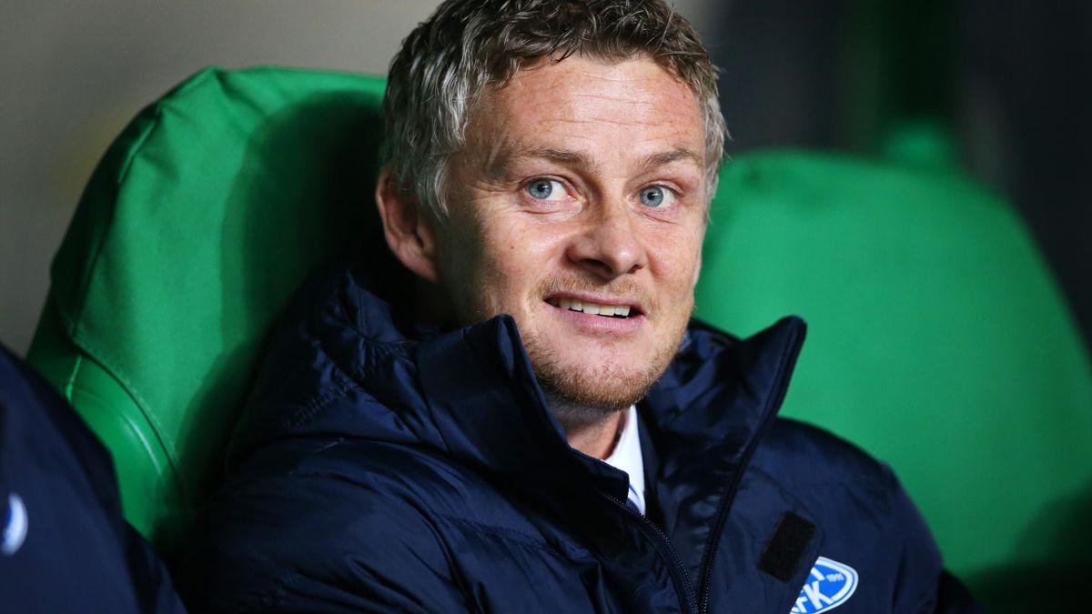 Ole Gunnar Solskjaer, manager of Molde