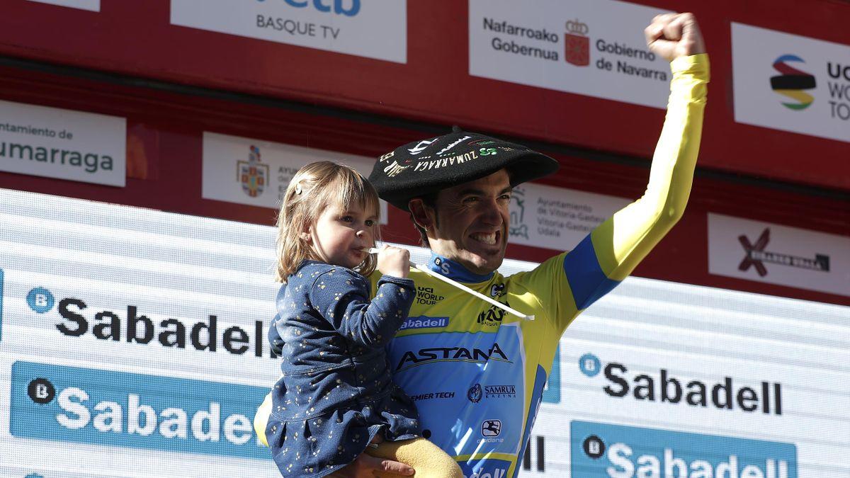 Ion Izagirre savoure sa victoire lors du Tour du Pays basque 2019