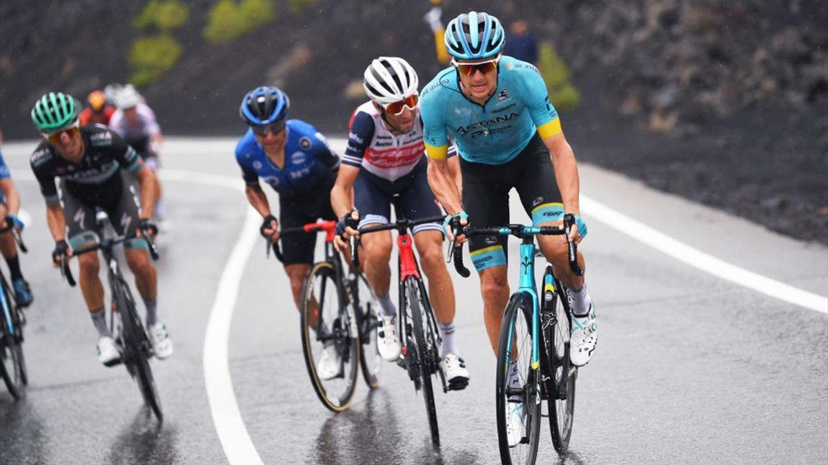 Fuglsang, Nibali și Pozzovivo, pe Etna, în etapa a 3-a din Giro 2020