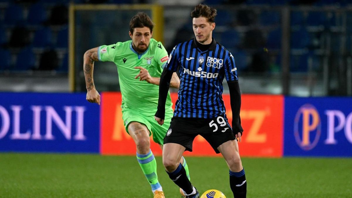 Alexey Miranchuk, Acerbi - Atalanta-Lazio - Coppa Italia 2020/2021 - Getty Images