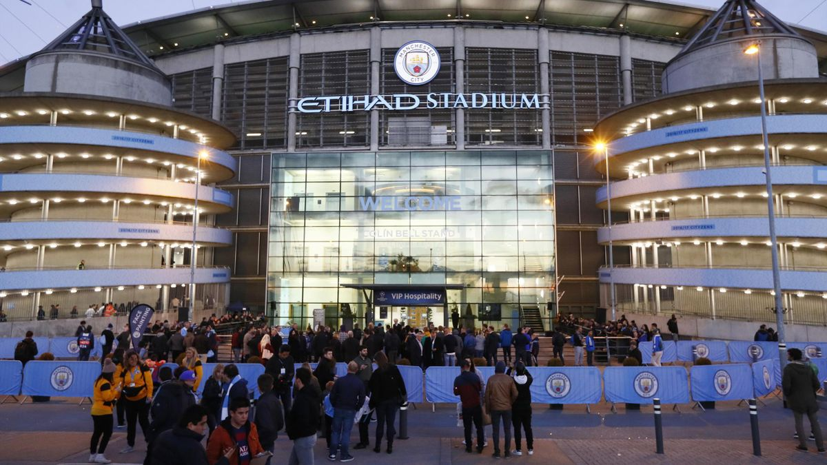 Britain Football Soccer - Manchester City v FC Barcelona - UEFA Champions League Group Stage - Group C - Etihad Stadium, Manchester, England - 1/11/16