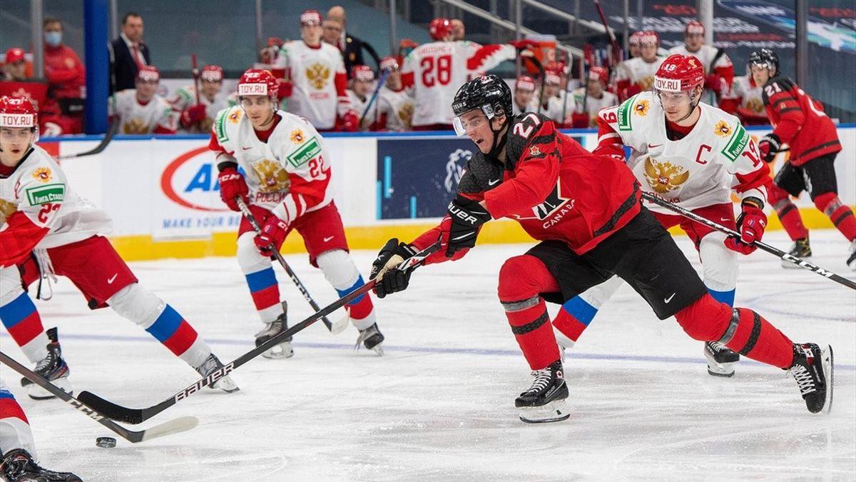 Канада – Россия, товарищеский матч перед МЧМ-2021