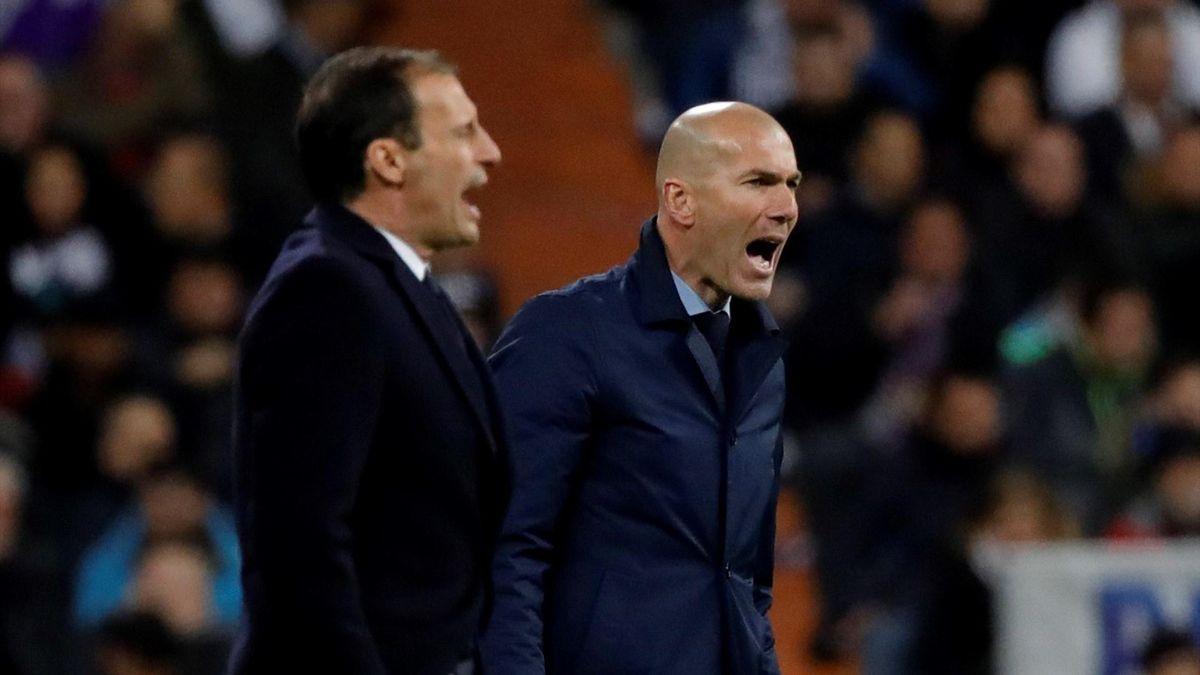 Massimiliano Allegri - Zinedine Zidane, Real Madrid-Juventus