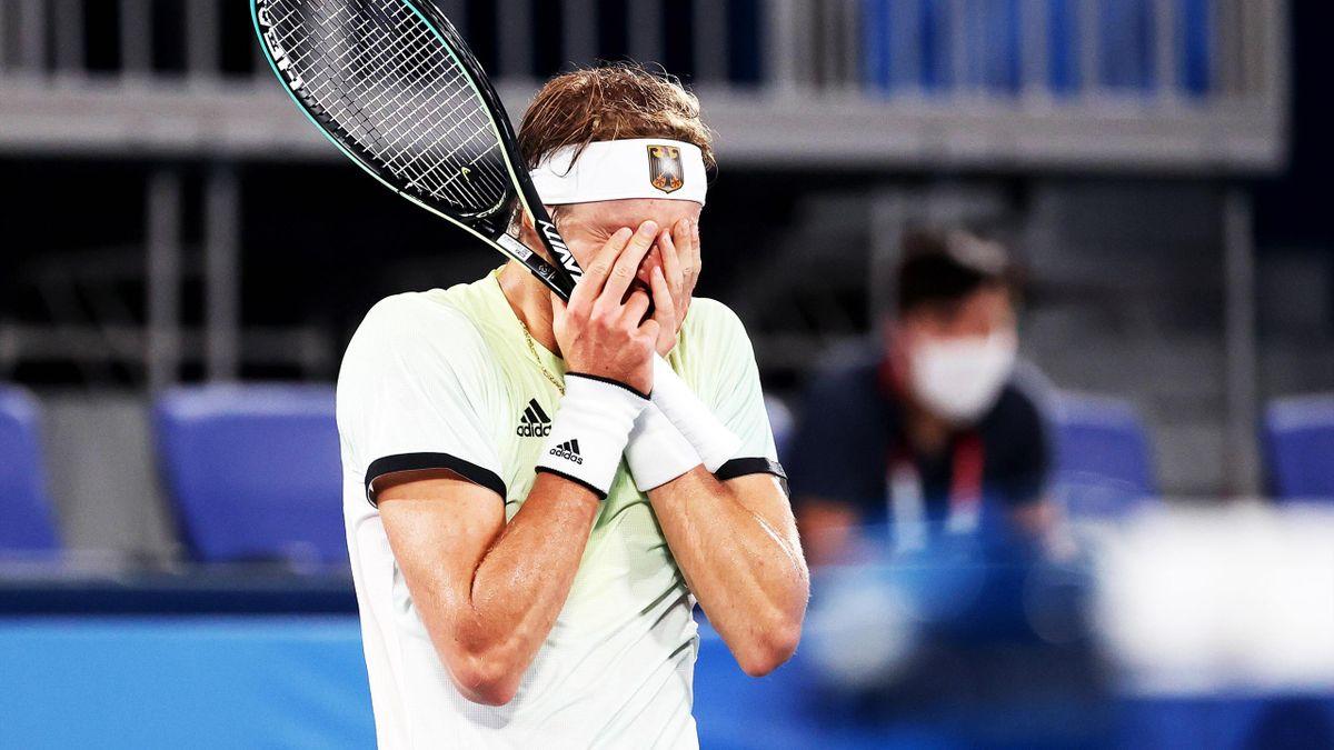 Alexander Zverev erreicht das Finale bei Olympia in Tokio