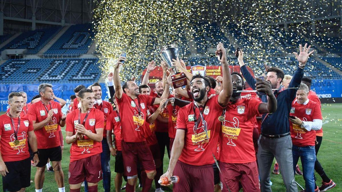 CFR Cluj, campioana României
