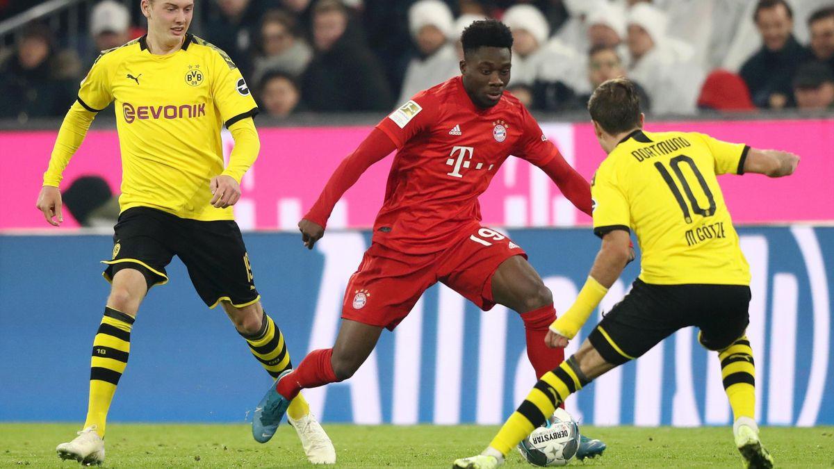 Alphonso Davies - FC Bayern München vs. Borussia Dortmund