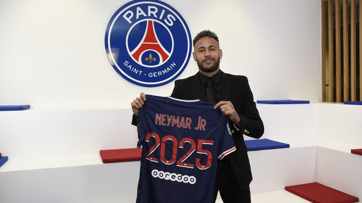 Neymar verlängert in Paris bis 2025