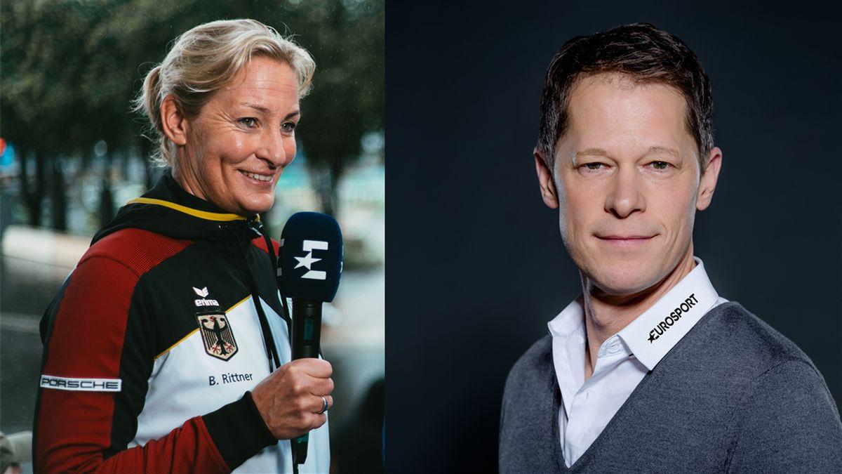 Neues Mixed-Doppel bei Eurosport: Barbara Rittner und Sascha Bandermann (Foto: Eurosport/Nadine Rupp/kk.media)