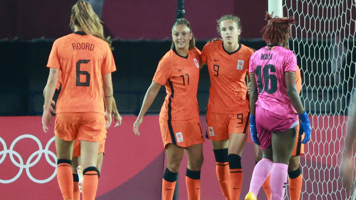 Netherlands celebrate