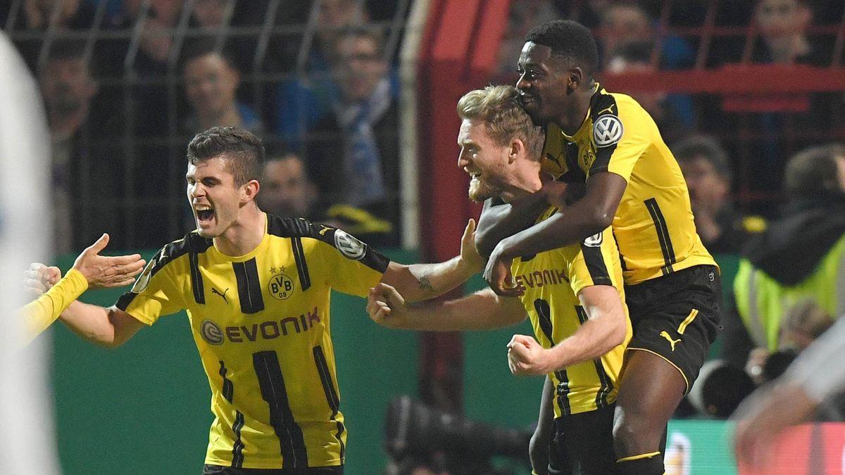 Borussia Dortmund besiegte die Sportfreunde Lotte