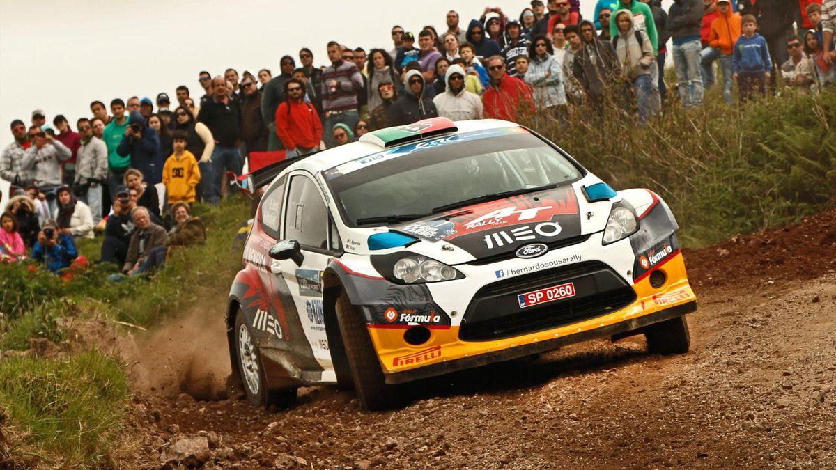 Sousa au Rallye des Açores en 2014
