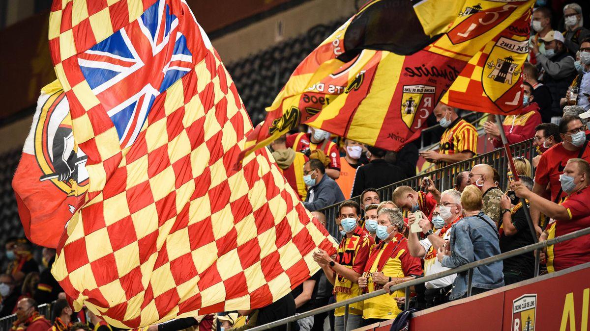 Les supporters du RC Lens s'étaient montrés très présents en début de saison pour soutenir leur équipe