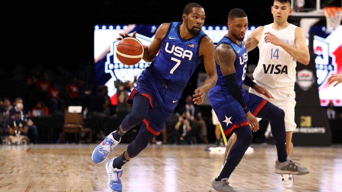 Team USA mot Argentina