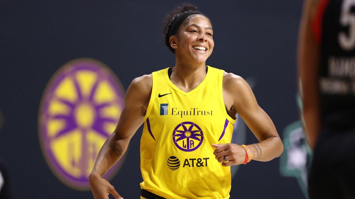 Candace Parker, Los Angeles Sparks, WNBA