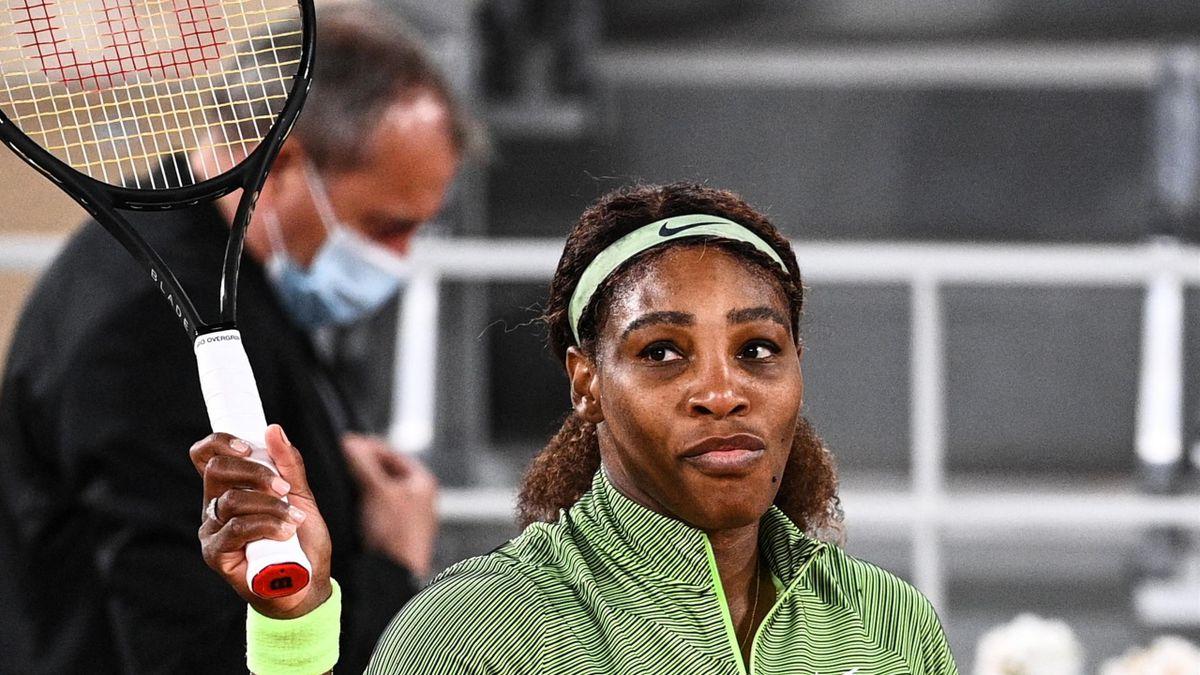 Serena Williams al Roland Garros 2021