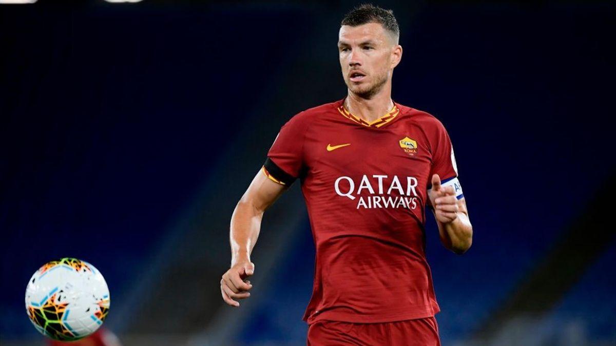 Dzeko - Roma-Sampdoria - Serie A 2019/2020 - Getty Images