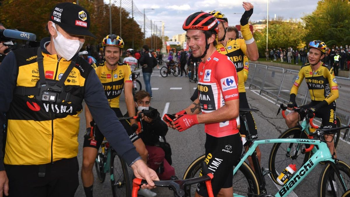 Roglic - Vuelta 2020, stage 18 - Getty Images