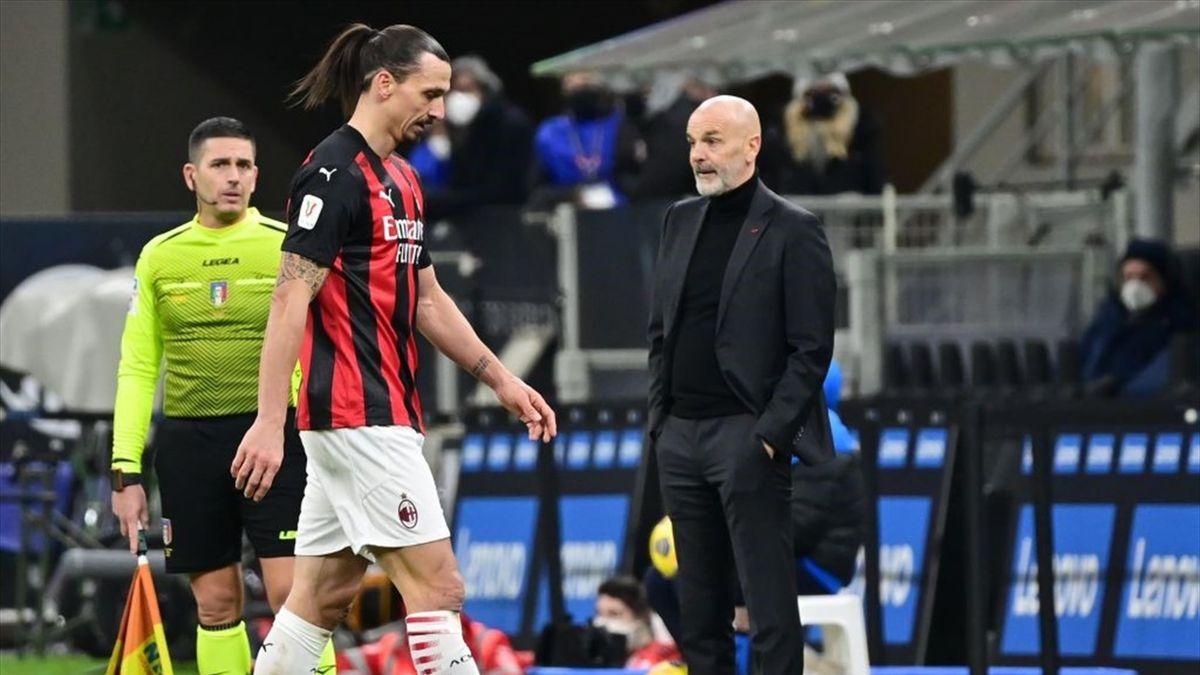 Zlatan Ibrahimovic - Inter-Milan Coppa Italia 2020-21