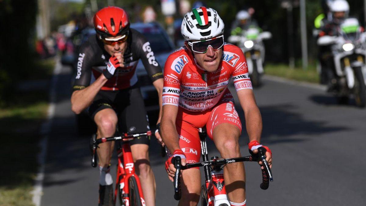 Mattia Bais, Sander Armée - Giro d'Italia 2020, stage 11 - Getty Images