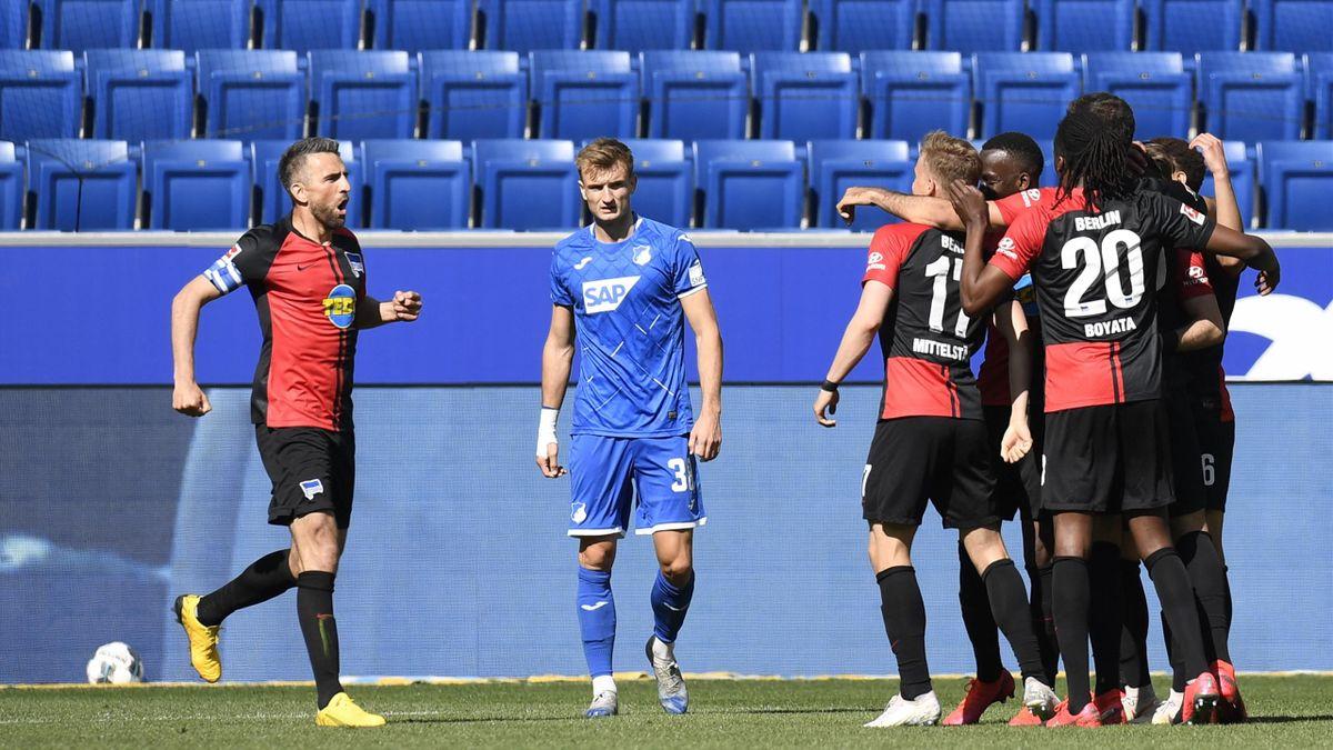 Hertha BSC gewinnt gegen die TSG Hoffenheim