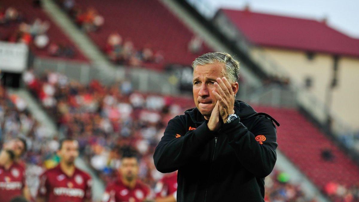 Dan Petrescu, fostul antrenor al lui CFR Cluj