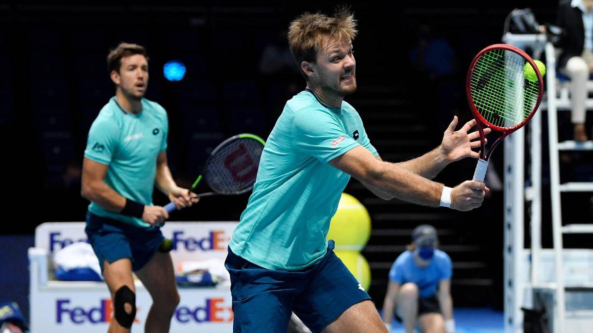 ATP Finals | Andreas Mies (links) und Kevin Krawietz