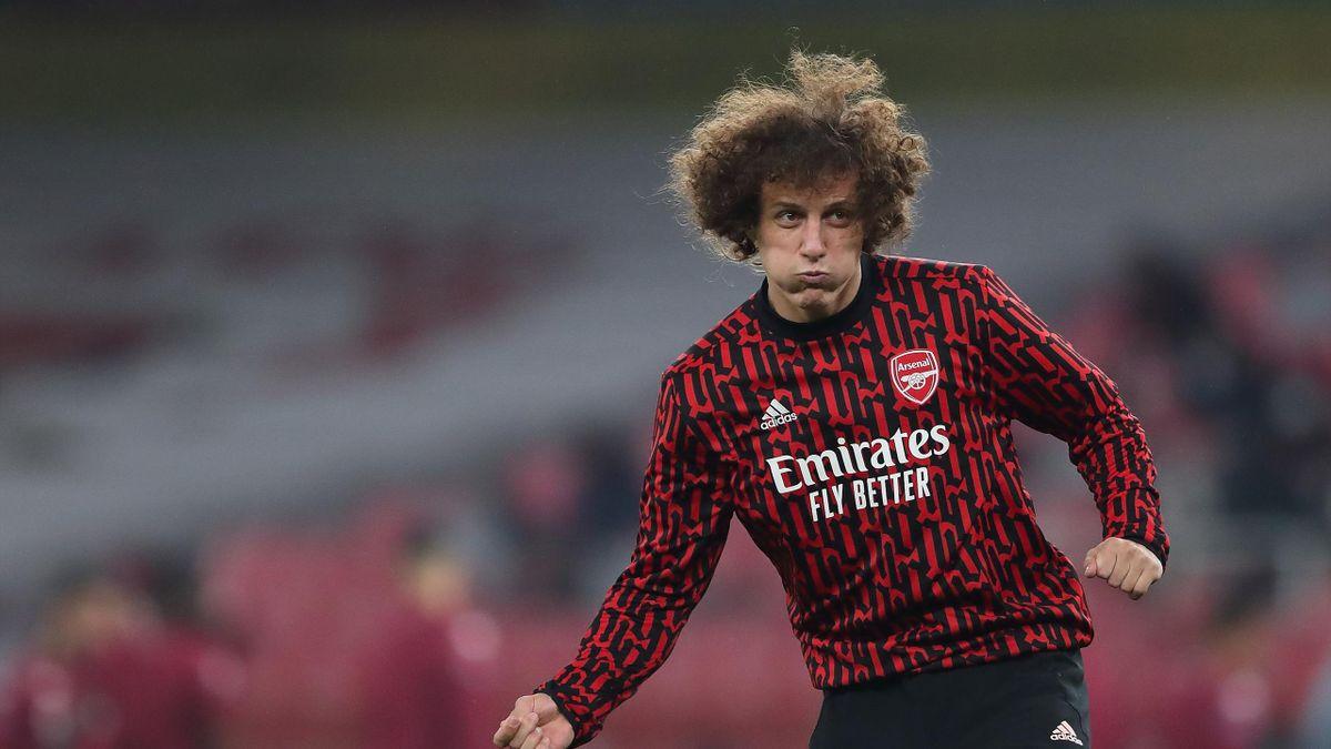David Luiz, Arsenal v Aston Villa