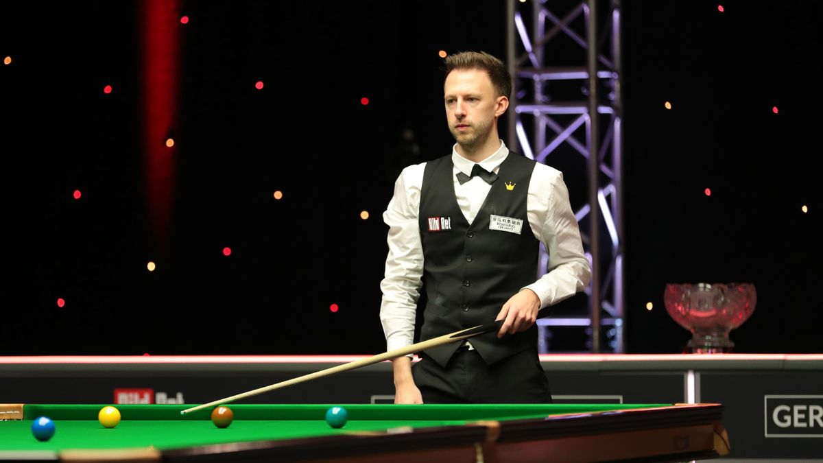 Judd Trump during the 2021 German Masters final (World Snooker)