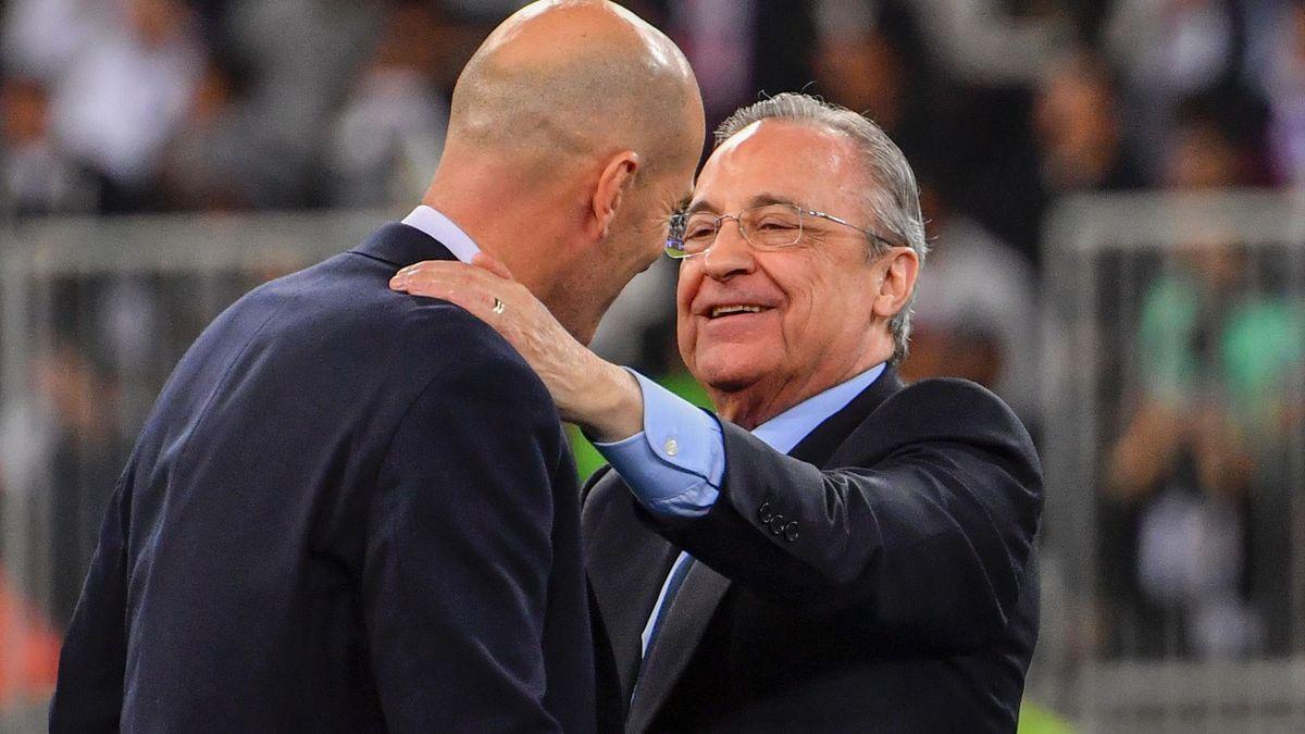 Zinedine Zidane & Florentino Perez